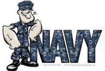 US NAVY / The United States Navy - Hooyah!! / by Merrit