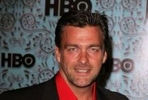 Ray Stevenson / From Titus Pullo to Isaak Shirko (and more) ~ the handsome, versatile, brilliant man himself. He married anthropologist Elisabetta Caraccia, whom he met while filming Rome, in 2005. The couple have two sons: Sebastiano Derek Stevenson, born on 24 December 2007, and Leonardo George Stevenson, born on 11 April 2011.  For more info on his career:  http://en.wikipedia.org/wiki/Ray_Stevenson_%28actor%29 / by Terri Richards