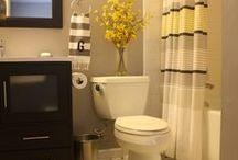 No place like home -bathroom / Bathroom DIYs, bathroom organization, bathroom decor ... bathroom bathroom bathrooms  / by Stephanie Fernandez Atanacio