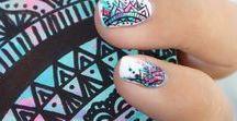 Anna's Nail Ideas / Cool nail designs.