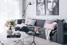 - MAISON - / Agencement de salon, cuisine, terrasse, salle a manger, salle de bain, jardin...