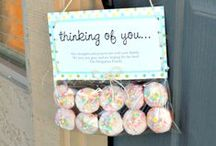 Gifts DIY / Gifts | diy cards | gift wrapping ideas | diy | handmade gifts | teacher gifts | neighbor gifts | birthday gifts | Christmas gifts | mother's day gifts | father's day gifts