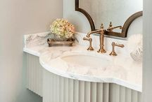 Bathrooms-Powder Rooms / by Jacque Holley