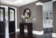 Decor- Walls & Floors / Ways to decorate your walls and floors / by Somewhat Simple {Stephanie Dulgarian}