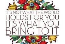 Quotes / by Morgan Vest