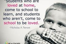 I ❤️ being a teacher! / Being a teacher is more than educating kids.  Lots of thoughts on this!  :) / by Johnette Warner