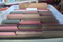 Organization! :) / by Cassie B.