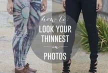 Fashion- Tips / Tips and tricks on how to look better / by Somewhat Simple {Stephanie Dulgarian}
