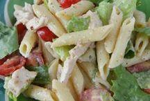 Recipes - Salads, Soups & Side Dishes / Salad Recipes | side dish recipes | pasta salad recipes | potato salad recipes | chicken salad recipes | easy salad recipes | favorite salad recipes