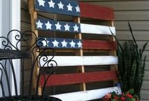 Holidays- Independence Day / Red, white and blue ideas / by Somewhat Simple {Stephanie Dulgarian}