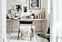 home office / by Nadine von Dreierlei Liebelei