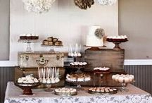 Süßer Tisch // sweet table / by Dreierlei Liebelei