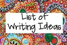 School: Writing / by Cassidy DeGrote Almquist