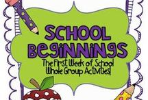 School: First Days / by Cassidy DeGrote Almquist