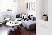 Wohnzimmer // living room / by Dreierlei Liebelei