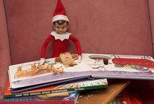 That crazy elf!  Elf on the Shelf / by Johnette Warner
