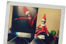 Elf On The Shelf / Find tons of creative Elf on the Shelf ideas here to keep it exciting all month long!