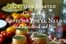 FYI: Prepping Canning / by Sue
