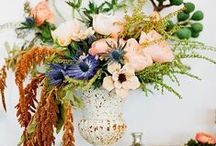 FLOWERS / Beautiful Flower arrangements for your wedding day inspiration.
