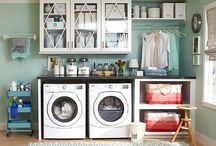 Laundry Room Inspiration / Laundry Room Design for New House / by Building a Charmed Life