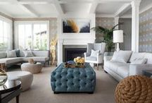 Great Room Inspiration / Great Room Design for New House / by Building a Charmed Life