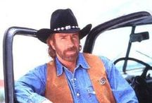 Don't mess with Chuck Norris / by Johnette Warner
