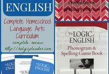 Language Arts Homeschool / collaborative board for homeschooling language arts