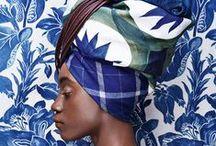 • Turbans •Headwrap • / Inspirations pour porter foulard & turban