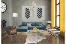 Virtual Interior Design / Interior design, budget, decor, rustic, chic, diy, glam, modern, vintage, home, sectional, interior designer