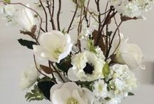 Faux Designs / Immortal Floral creations designed by Jean Louise Paquin Allen of Juniper Flowers. We customize artificial florals for site specific, residential or commercial spaces.