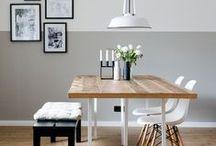 Esszimmer // dining room / by Dreierlei Liebelei