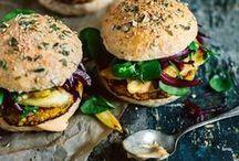 Burger Rezepte // Burger recipes / by Dreierlei Liebelei