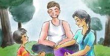 Tableau de la ligue des super-méditants / Méditation, pleine conscience et super-héros