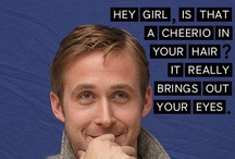 Crafts and Ryan / Crafts are not my thing but Ryan Gosling could change anyone's mind