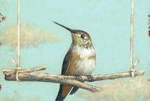 Art-Bird 鳥の絵やアート / 鳥さんの絵やアート