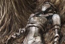 Robot Morgue / Inspiration for robot/cyborg comic