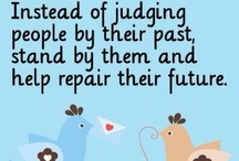 Judging Others / We are not to judge others