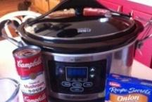 Crockpot meals / meals from the crock pot or skillet