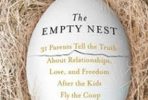 """Empty Nest / Empty nest syndrome is a general feeling of grief and loneliness parents or guardians may feel when their children leave home. Because an adult child moving out is seen as a normal and healthy event, the symptoms of empty nest syndrome often go unrecognized.   For parents, this can result in depression, as well as a loss of purpose. When their children finally """"leave the nest"""", parents must begin to adjust their lives accordingly."""