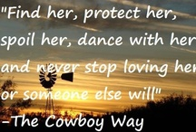 """Cowboys/gals / Originally, the term may have been intended literally—""""a boy who tends cows."""" By 1849 it had developed its modern sense as an adult cattle handler of the American West. """"Variations on the word """"cowboy"""" appeared later. """"Cowhand"""" appeared in 1852, and """"cowpoke"""" in 1881, originally restricted to the individuals who prodded cattle with long poles to load them onto railroad cars for shipping.Names for a cowboy in American English include buckaroo, cowpoke, cowhand, and cowpuncher."""""""