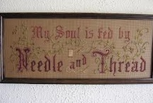 Victorian quotes, samplers, cards