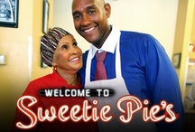 """Sweetie Pies / When Robbie Montgomery toured with the 1960s soul duo sensation Ike and Tina Turner as one of the original backup singers, she poured her creative gifts into her cooking as much as her singing. After her lung collapsed and she could no longer sing, Robbie took her mother's soul food recipes, passed down through generations, and created the empire known as """"Sweetie Pie's,"""" St. Louis' iconic and wildly popular soul food restaurant run by Miss Robbie and her dynamic family.  Robbie is 71."""