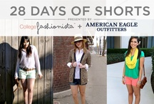 28 Days of Shorts with College Fashionista / During February, 28 College Fashionista Stye Gurus will be showcasing how to work American Eagle Outfitters shorts into their wardrobe. / by American Eagle Outfitters