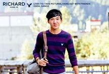 Meet Richard: AEO Holiday 2013  / by American Eagle Outfitters