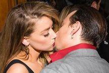 Johnny Depp & Amber Heard