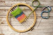Fiber Crafts for Kids / Anything to do with yarn, fabric, and kids.