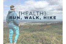 {Health}: Run, Walk, Hike / As part of our simple living journey, we try to get out the house more often. Explore the world on foot - walk, run or hike in the outdoors!Ways to get fit and healthy outside and for free!