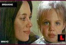 Marcheline & Angelina / Mãe e filha  ❤️