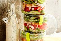 Salate und Dressings