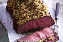 Fleisch / Deftige Braten, Steaks, Tips zur Fleischzubereitung; siehe auch meine Kategorie Eintöpfe und Schmorgerichte, Chicken Food Love, Hackfleisch